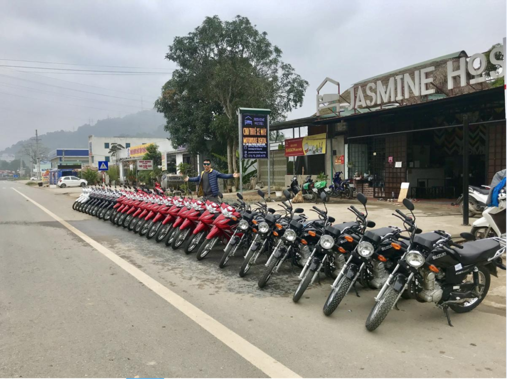 ベトナムでバイクレンタル。費用と詳細情報。