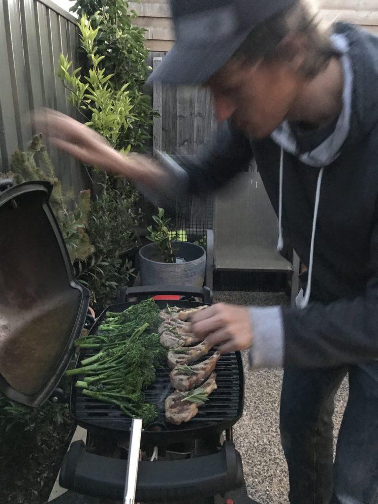 オーストラリア産ベイビーブロッコリーおすすめレシピはグリル。