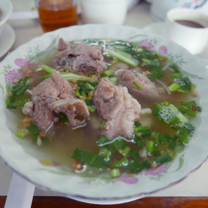 カンボジア・プノンペンの絶品ヌードル。