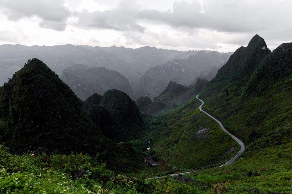 ベトナムハザン省バイク旅行記。独特の地形が素晴らしい。