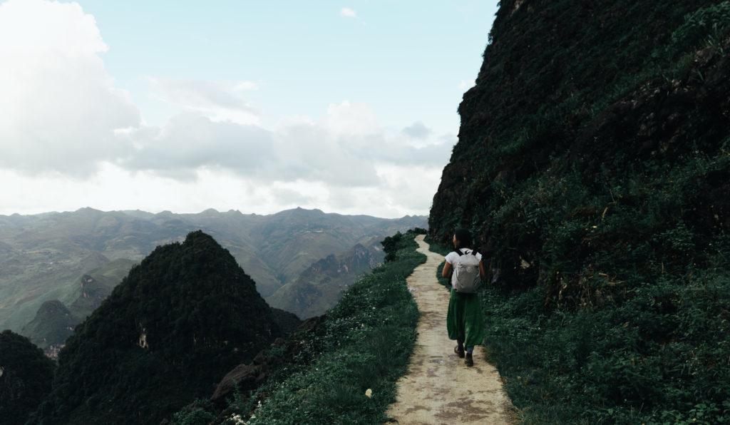 ベトナムハザン省(Ha Giang)にあるMa Pi Leng Skywalk(スカイウォーク)