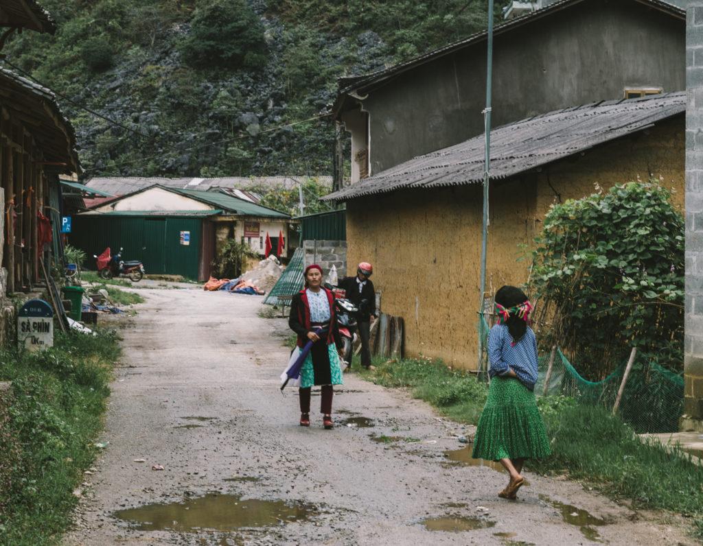 ベトナム北部、ハザン省少数民族の暮らし
