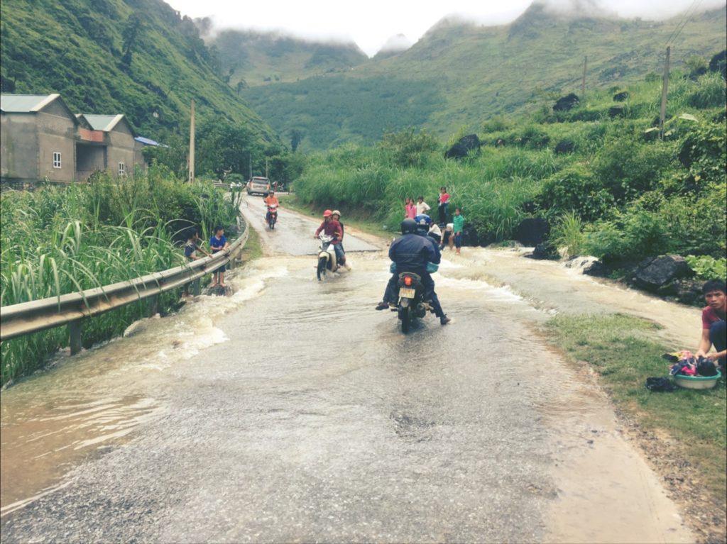 ベトナムハザン省、雨季に訪れてみた。