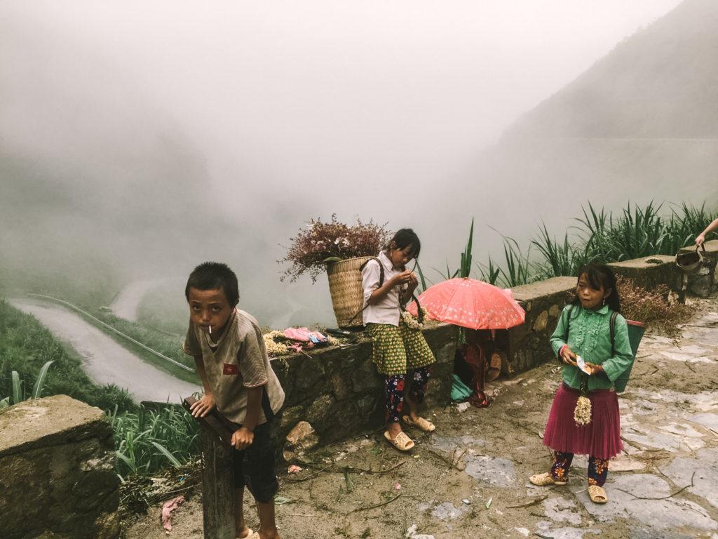 ベトナムハザン省の気候。バイク旅旅行記。
