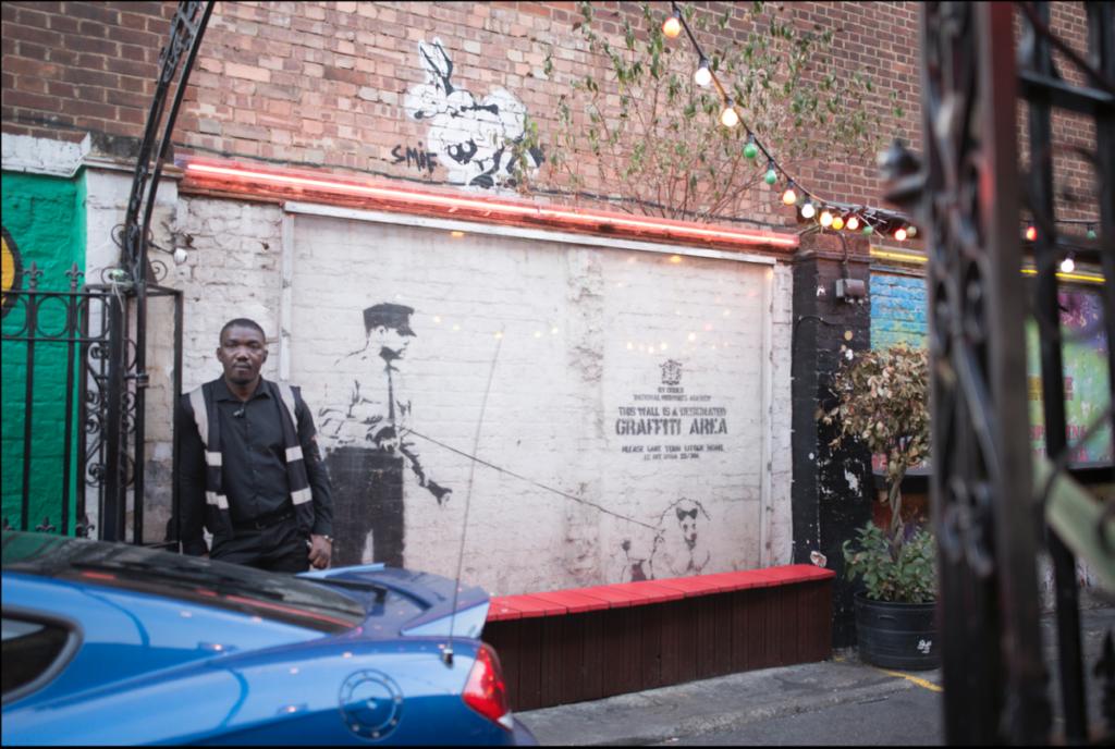 本物のBanksy(バンクシー)に会える。ロンドンのストリートアート。