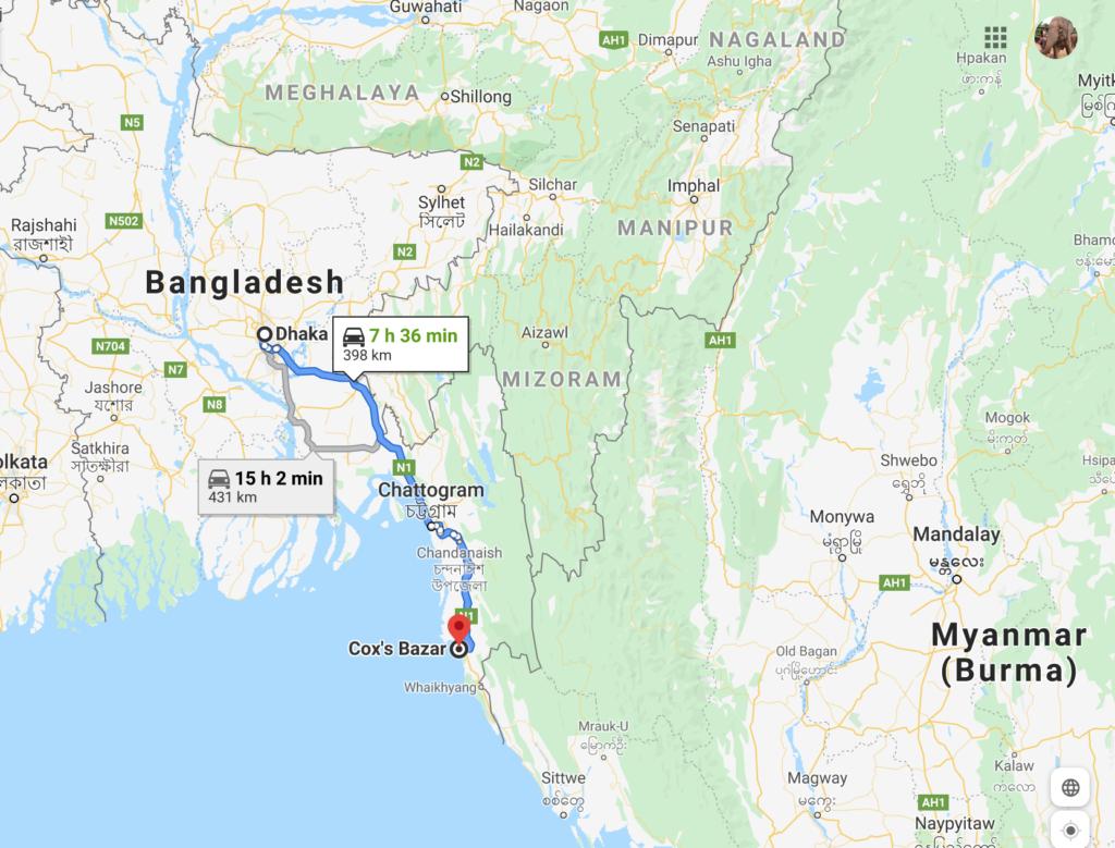 バングラデシュコックスバザールってどんな所?行ってきました。
