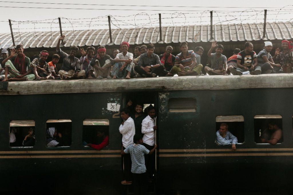 バングラデシュの電車旅、旅行記①首都ダッカからチッタゴンへ。