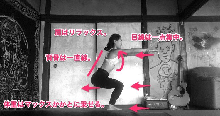 Awkward Pose – Utkatasana(ウッカターサナ)|Bikram Yoga