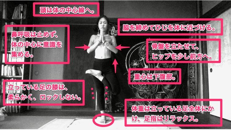 Half Lotus Tree Pose(ハーフロータス) – Tadasana(タダッサナ)効果|目的